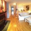 PLATEAU !! Spacieux 4 1/2 meublé avec foyer au bois