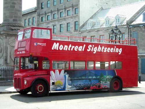 Visiter Montreal en bus