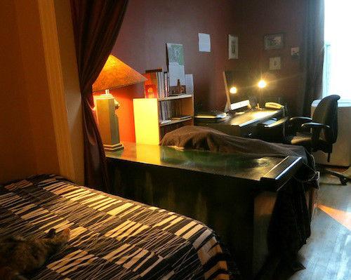 loft studio louer montr al. Black Bedroom Furniture Sets. Home Design Ideas