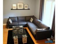 3 1/2 metro Frontenac semi-meublé avec patio + cour privée